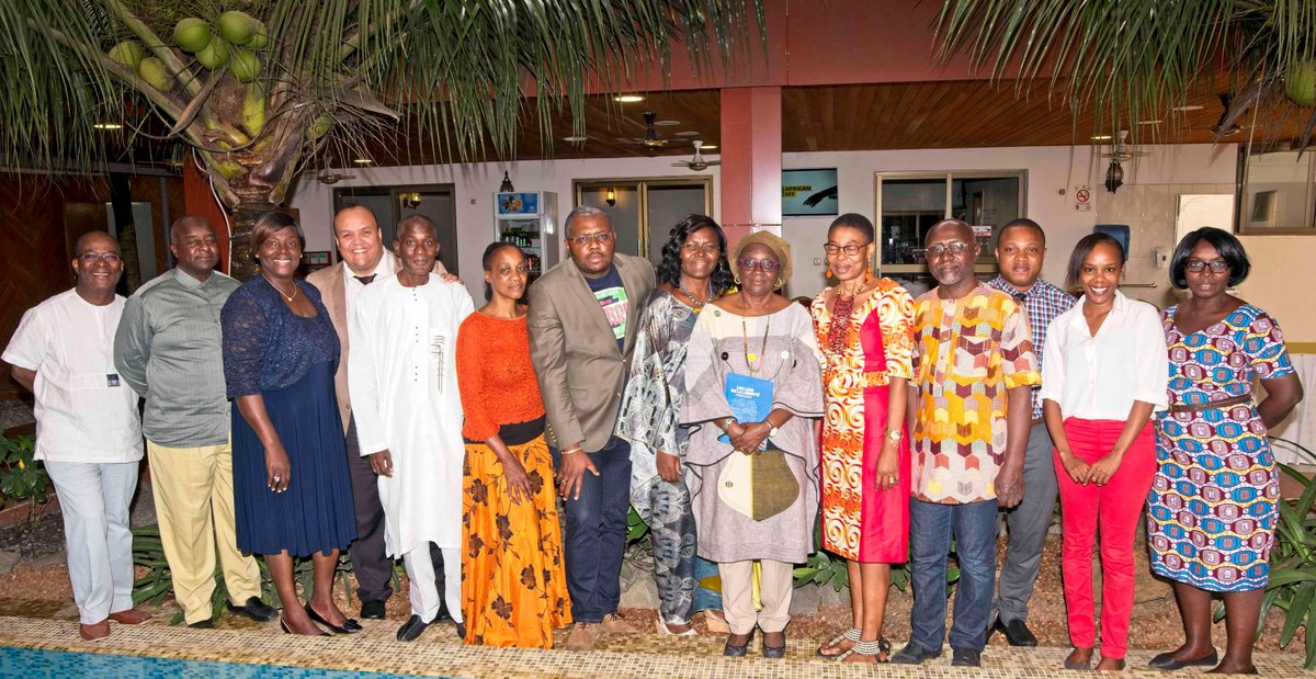 Family Photo of the NGOs Forum Sub-Regional Focal Points