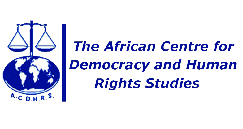 The African Centre for Democracy and Human Rights Studies